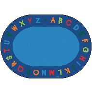 Alphabet Circletime Rug by Carpets for Kids