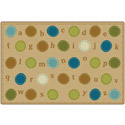 Alphabet Dots KIDSoft Rugs by Carpets for Kids