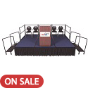 Click here for more Fixed Height Stage Sets w/ Carpet Surface by Amtab by Worthington