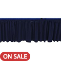 Click here for more Stage Skirting for Portable Stages by Amtab by Worthington