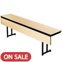 "Click here for more 5/8"" Training Table w/ Cantilever Leg & Modesty Panel by Amtab by Worthington"