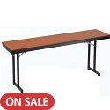 "Click here for more 3/4"" Training Table w/ Cantilever Leg by Amtab by Worthington"
