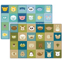Click here for more Animal Patchwork KIDSoft Rugs by Carpets for Kids by Worthington