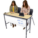Apex Series Double Student Stand-Up Desks by Marco Group