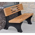Ariel Outdoor Benches by Jayhawk Plastics