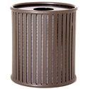 Augusta Outdoor Trash Receptacle by UltraPlay