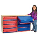 Value Line 3-Section Rest Mat Storage by Angeles