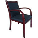 Click here for more Wood Side Guest Chair by Boss by Worthington