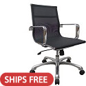 Baez Series Mesh Conference Chairs by Woodstock Marketing