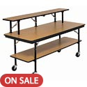 Click here for more Mobile Buffet Tables by Amtab by Worthington
