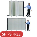 "6'-5"" H Light Duty Partitions by Screenflex"