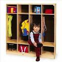 Click here for more Birch Coat Lockers by Whitney Brothers by Worthington