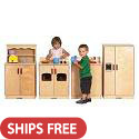 Birch Play Kitchen by ECR4Kids