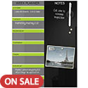 Click here for more Black Glass Dry Erase Weekly Planner by Best-Rite by Worthington