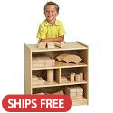Click here for more Birch Block Storage Carts by ECR4Kids by Worthington