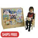 Click here for more Birch Book Display w/ Storage by ECR4Kids by Worthington
