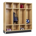 Click here for more Wood Backpack Lockers by Diversified by Worthington