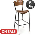BR3818A Series Cafe Stool by KFI
