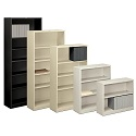 Brigade Metal Bookcases by Hon