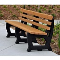 Click here for more Brooklyn Outdoor Benches by Jayhawk Plastics by Worthington