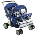 SureStop Folding Commercial Bye-Bye Stroller by Angeles