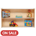 Contender Series Shelf Storage Units by Wood Designs