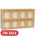 Contender Series 8 Cubby Knapsack Storage Unit by Wood Designs
