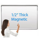 "Porcelain Steel Magnetic Markerboard 1/2"" Thick by Caprock Furniture"