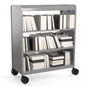 Click here for more Cascade Nomad Library Storage Book Cart by Smith System by Worthington