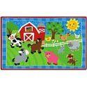Click here for more Cutie Barnyard Rug by Flagship Carpets by Worthington