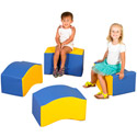 Click here for more Wave Soft Seating Set by The Children's Factory by Worthington