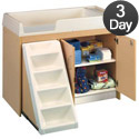 Click here for more Tot- Mate Toddler Walk- Up Changing Tables- Quick Ship by Worthington
