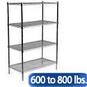 Click here for more Heavy Duty Chrome Wire Shelving Units by Sandusky Lee by Worthington