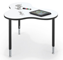 Click here for more Cloud 9 Collaborative Station with Dry Erase Top by Balt by Worthington