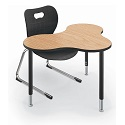 Click here for more Cloud 9 Collaborative Student Desk by Balt by Worthington