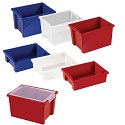 Colorful Essentials Storage Bins & Lids by ECR4Kids