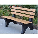Click here for more Comfort Park Avenue Outdoor Benches by Jayhawk Plastics by Worthington