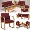 Click here for more Contour Full Back Series Reception Seating by Lesro by Worthington