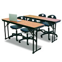 CP Series Folding Training Tables by Midwest