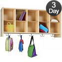 Click here for more Eco Wall-Mount 10 Cubby Coat Rack by Tot-Mate by Worthington