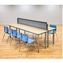 Click here for more Desk Fence by Smith System by Worthington