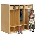 Birch Double-Sided 10-Section Locker by ECR4Kids