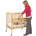 Click here for more Drop-Gate Cribs by Angeles by Worthington