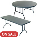 Click here for more Dynalite ABS Plastic Folding Tables by Amtab by Worthington