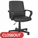 Click here for more Essentials Executive Mid-Back Chair by OFM by Worthington