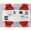 Click here for more Echo Series Meeting Room Tables by Haskell by Worthington