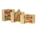 Click here for more Birch Corner Storage Unit by ECR4Kids by Worthington