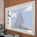Elemental Frameless Dry Erase Board w/ Projection Surface by Best-Rite