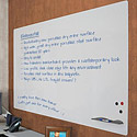 Elemental Frameless Dry Erase Whiteboard by Best-Rite