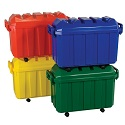 Click here for more Stackable Storage Trunk 4-Piece Set by ECR4Kids by Worthington